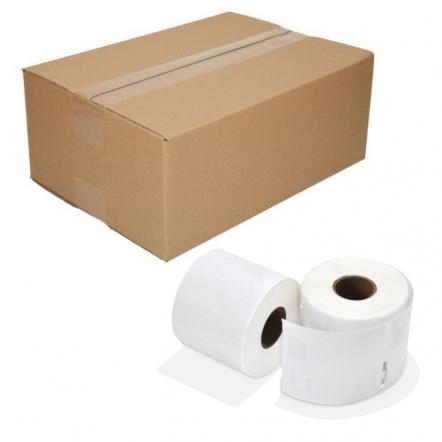 12 rollen Seiko SLP-DRL compatible labels, 54 x 70mm, 320 etiketten