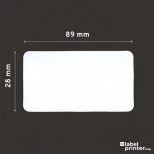 Dymo 99010 compatible labels, 28 x 89mm, 130 etiketten