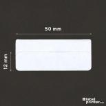 Dymo 99017 compatible labels, 12 x 50mm, 220 etiketten